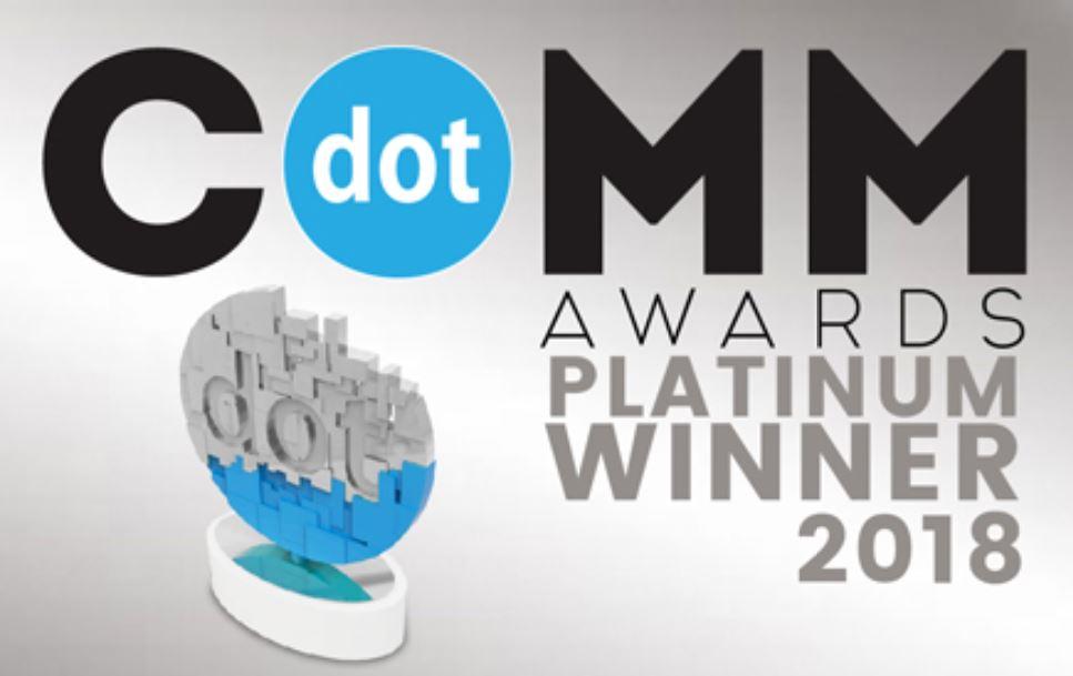 Precision's new brand and digital identity win a Platinum award!
